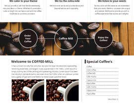 #18 para Design a Website Mockup for a Mobile Coffee Business por designcreativ