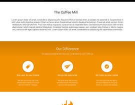 #27 para Design a Website Mockup for a Mobile Coffee Business de KsWebPro