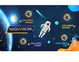 #448 for NASA Contest:  We Need a Cool Virtual Background to Celebrate our Program Winners by shinydesign6