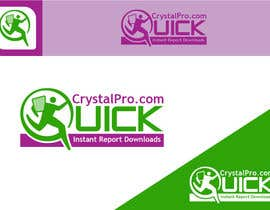 #6 para Design a Logo for QuickCrystalPro de iabdullahzb