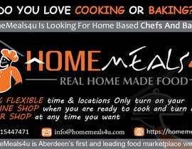 #13 para Design a Flyer for HomeMeals4u de clusterG
