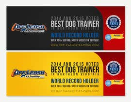 #4 za Design a Banner for Dog Training Business od amitpadal