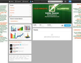 #21 for Twitter Background Design for Financial/Stocks/Trading Tool Website af Utnapistin