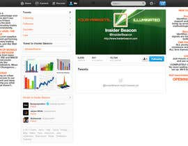 #27 for Twitter Background Design for Financial/Stocks/Trading Tool Website by Utnapistin
