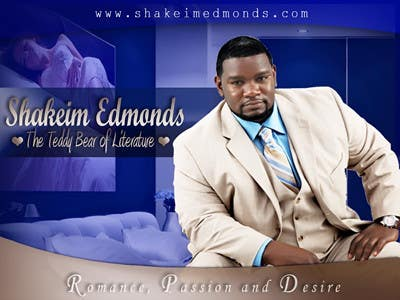 """Contest Entry #                                        16                                      for                                         Flyer Design for The Teddy Bear of Literature. """"Shakeim Edmonds"""" Flyer"""