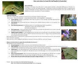 #24 for Do some Research on a list of Gardening and Tree Pruning topics for Australian conditions af kvd05