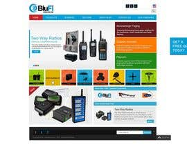 #9 para Website CONCEPT Design BluFi Wireless USA por ProliSoft