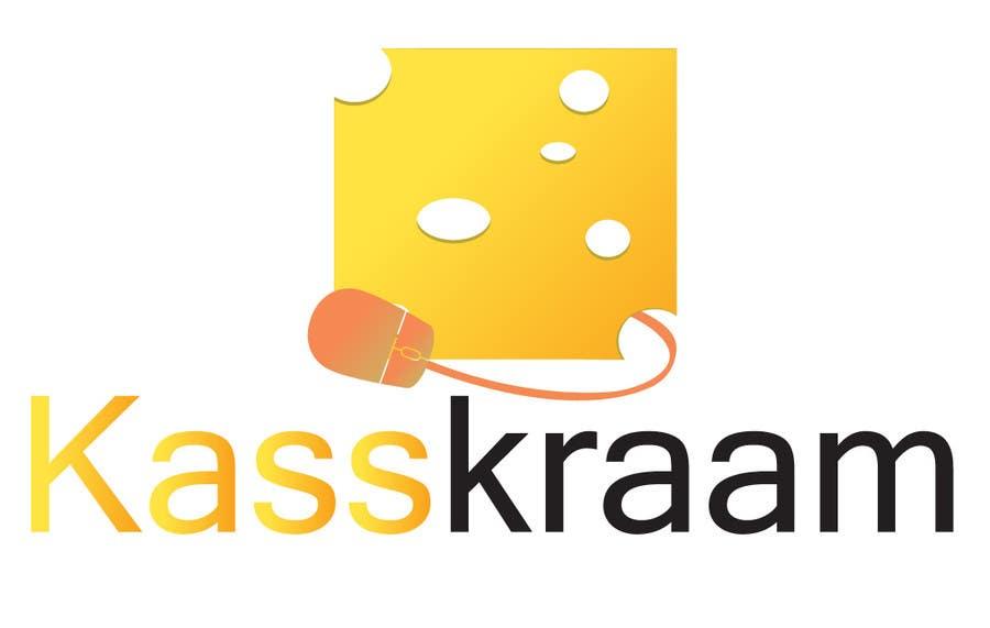 Konkurrenceindlæg #126 for Design a Logo for Cheese Webshop KaasKraam