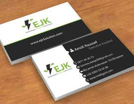 #1 untuk Deign a Logo and Business Card for EJK Renewable Energy Solutions oleh amzilyoussef18