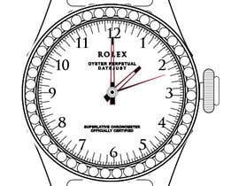 thedubliner tarafından Need to raw illustration of a Rolex watch için no 6