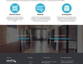 #3 for Website Header and Background Design, minor color & footer image changes, info page content design by doubledude