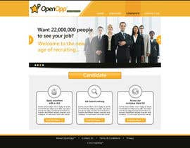 #3 untuk Website Design for OpenOpp.com - 2 pages only - Any format oleh anjaliarun09