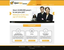 #4 untuk Website Design for OpenOpp.com - 2 pages only - Any format oleh anjaliarun09