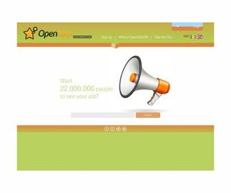 #6 for Website Design for OpenOpp.com - 2 pages only - Any format by barinix