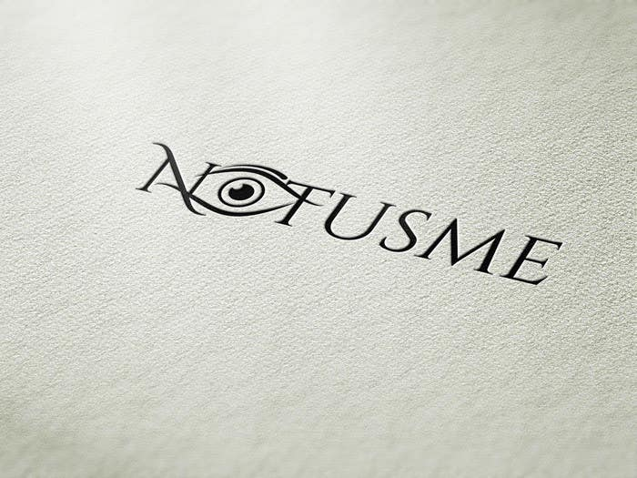 Konkurrenceindlæg #769 for Design a Logo for Notusme Apparel