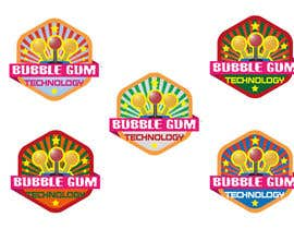 nº 85 pour Logo Design for Bubble Gum Technology par branislavad