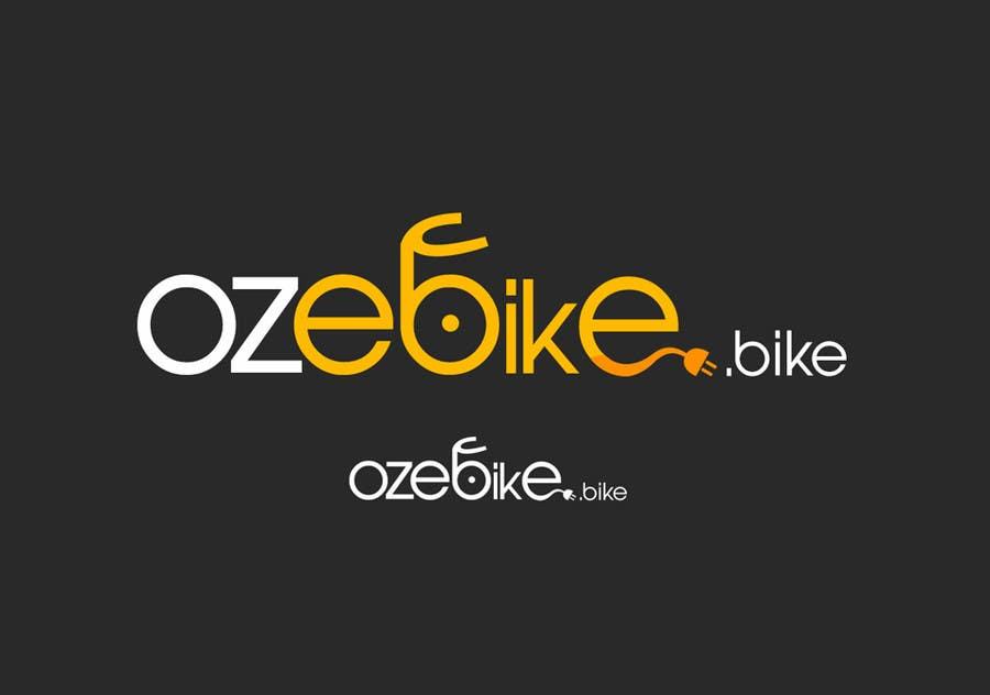 """Konkurrenceindlæg #83 for Design a Logo for """"ozebike.bike"""""""