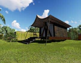 mr3ddesigners tarafından Small boutique campsite design - 3d exterior design including landscape for a fancy camp ground (glamping) için no 24