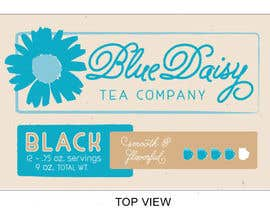 Nambari 5 ya Create Print and Packaging Designs for Blue Daisy Tea Company na creativeoncall