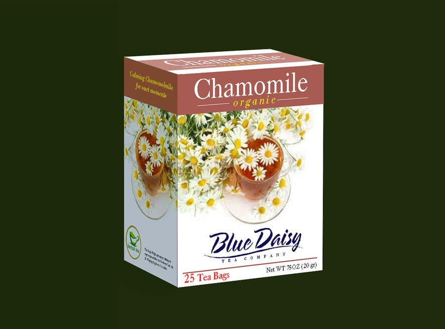 Contest Entry #                                        37                                      for                                         Create Print and Packaging Designs for Blue Daisy Tea Company