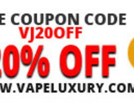 #1 for Design 350 x 100 Banner for Vape E-Cig Juice website by doubledude