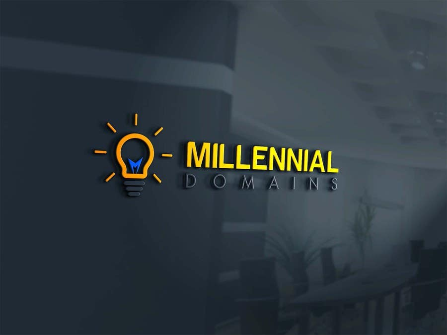 Bài tham dự cuộc thi #86 cho Design a Logo for MillennialDomains.com