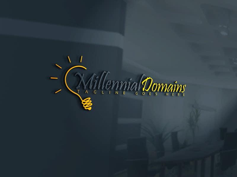 Bài tham dự cuộc thi #44 cho Design a Logo for MillennialDomains.com
