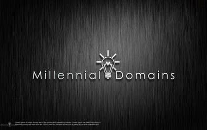 Nro 117 kilpailuun Design a Logo for MillennialDomains.com käyttäjältä shitazumi