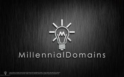 Nro 119 kilpailuun Design a Logo for MillennialDomains.com käyttäjältä shitazumi