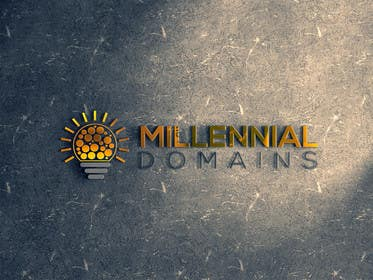 Nro 72 kilpailuun Design a Logo for MillennialDomains.com käyttäjältä thelionstuidos