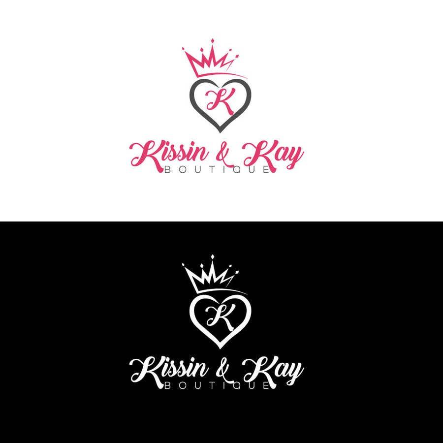 Konkurrenceindlæg #                                        85                                      for                                         Company logo for Kissin & Kay Boutique