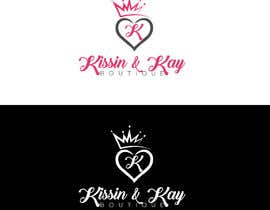 #85 for Company logo for Kissin & Kay Boutique af abdullahfuad802