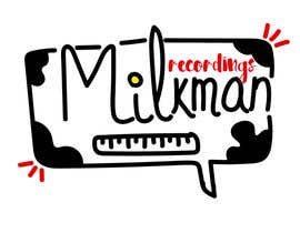 #16 untuk Create a logo and business card design for Milkman Recordings. oleh Vancliff