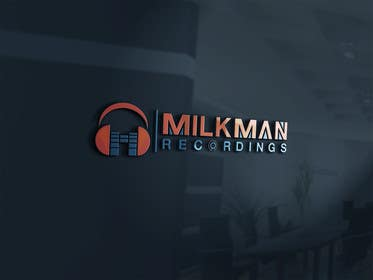 #41 untuk Create a logo and business card design for Milkman Recordings. oleh sdartdesign