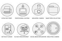 Graphic Design Contest Entry #3 for Design some Icons for product features