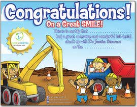 #17 untuk Illustrate Something for Kids Dental Certificate oleh madiworks