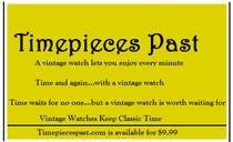 Bài tham dự #111 về Marketing cho cuộc thi Vintage watches retailer name and baseline