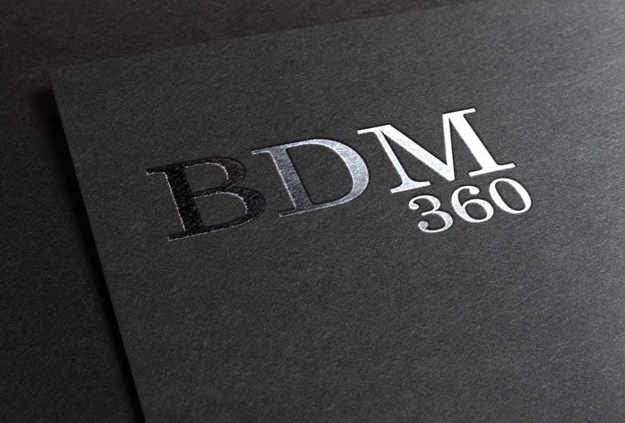 Contest Entry #                                        35                                      for                                         Design a Logo for BDM360