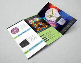 #6 for Trifold Product Brochure for LED Company af todtodoroff