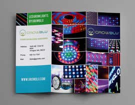 #12 for Trifold Product Brochure for LED Company af Olekiy