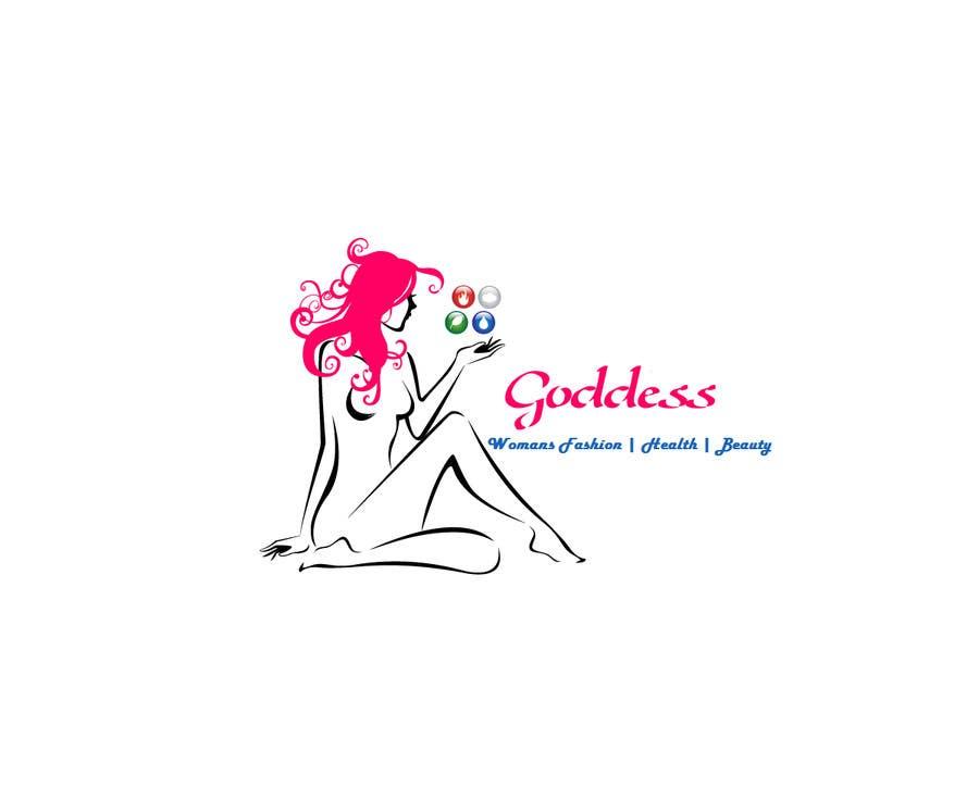 Konkurrenceindlæg #                                        81                                      for                                         Design a Logo for Goddess.