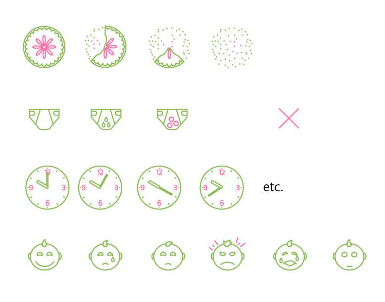 Contest Entry #                                        12                                      for                                         Design some Icons for mobile application