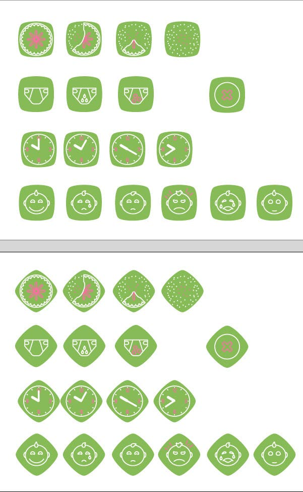 Contest Entry #                                        18                                      for                                         Design some Icons for mobile application