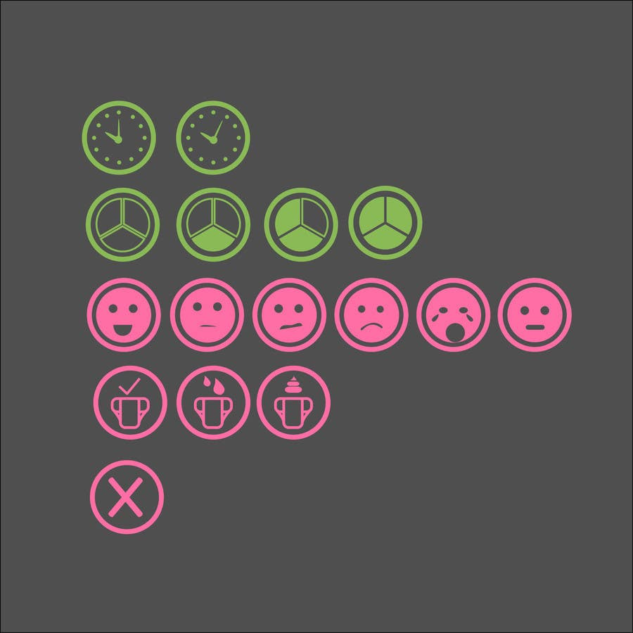 Contest Entry #                                        7                                      for                                         Design some Icons for mobile application