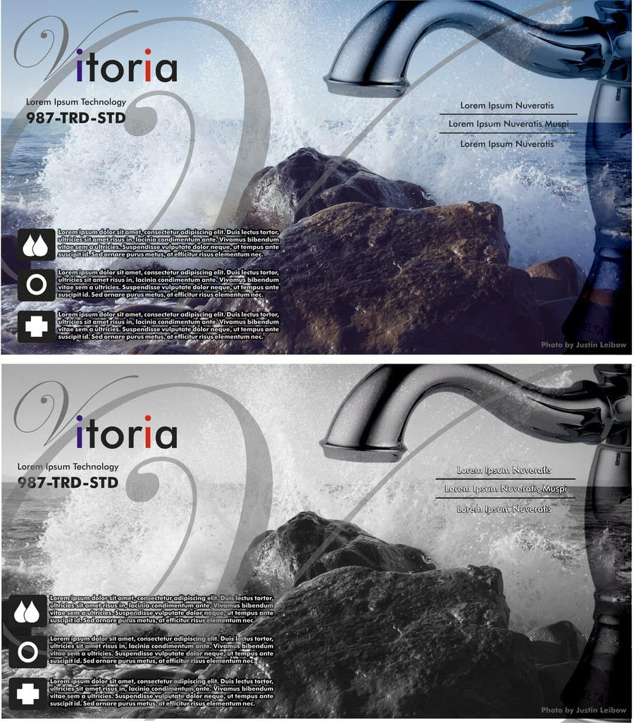 Contest Entry #                                        3                                      for                                         Create Packaging Designs for a High End Faucet Carton