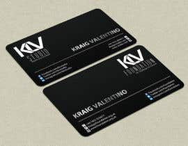 #191 for Design some Business Cards for KLV Studio by smshahinhossen