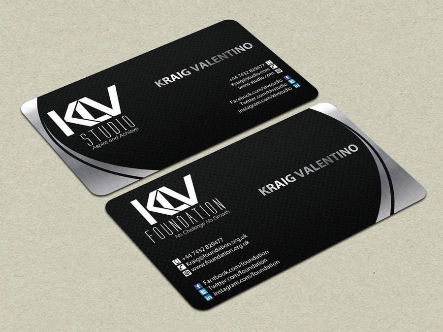 Konkurrenceindlæg #                                        192                                      for                                         Design some Business Cards for KLV Studio