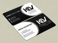 Graphic Design Konkurrenceindlæg #193 for Design some Business Cards for KLV Studio