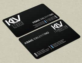 #196 untuk Design some Business Cards for KLV Studio oleh smshahinhossen