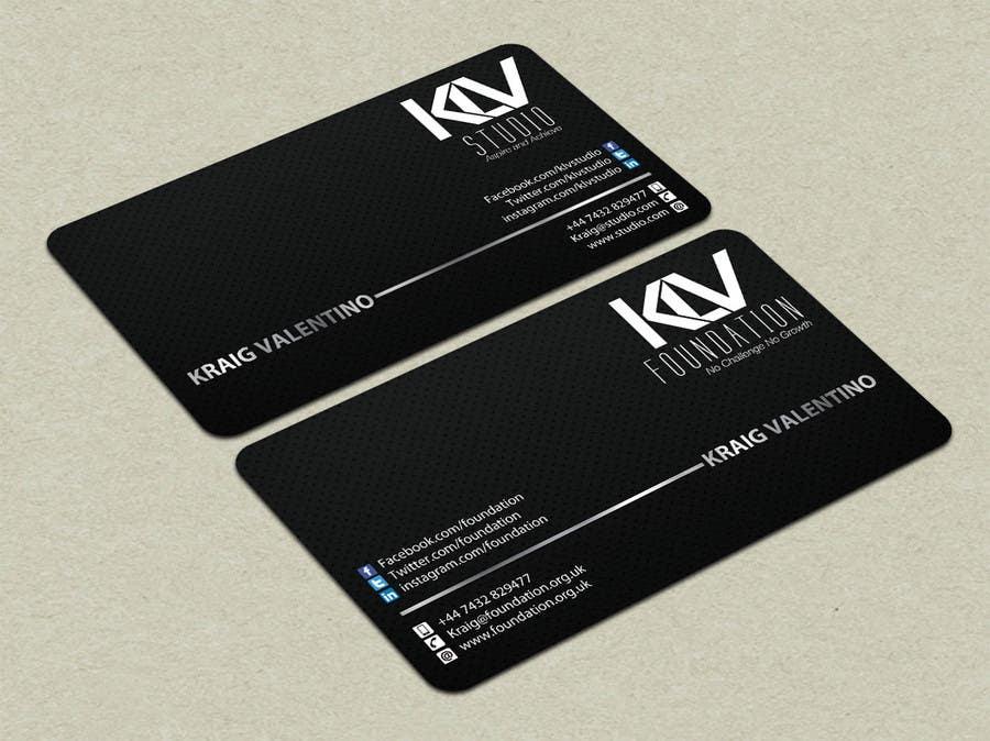 Konkurrenceindlæg #                                        198                                      for                                         Design some Business Cards for KLV Studio